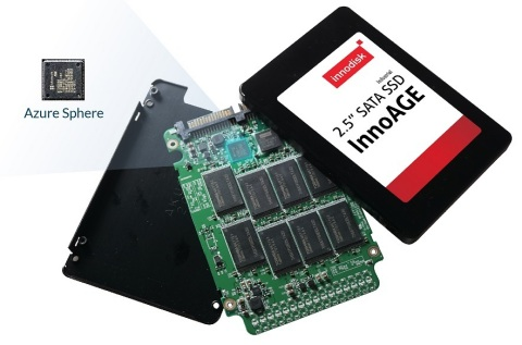 InnoAGE SSD is the first Azure Sphere inside solution with a patent. Enable in-band management and out of band management (Photo: Business Wire)