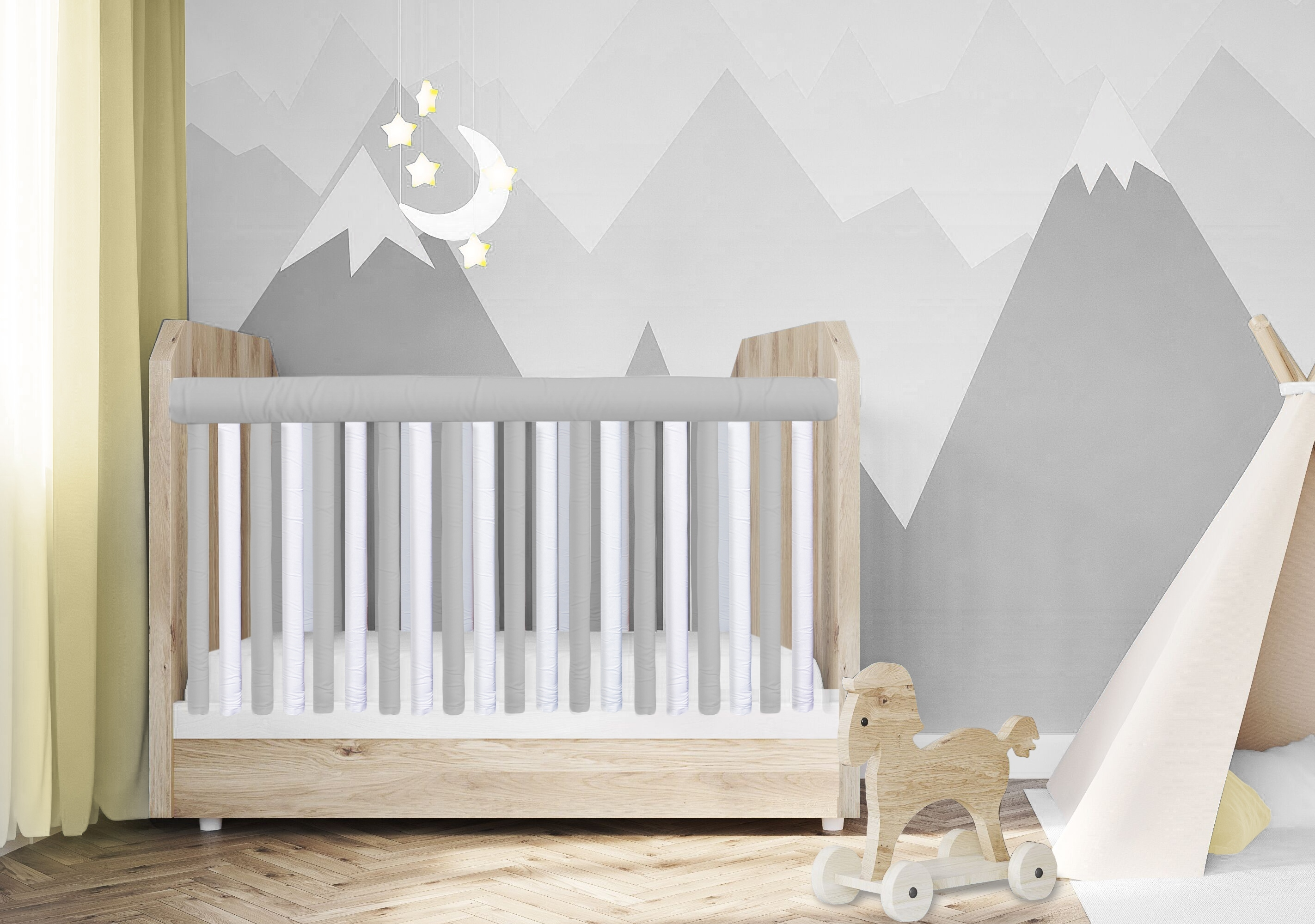 Go Mama Go Designs Pure Safety Vertical Crib Liners Exempt From New York State S Ban On Traditional Crib Bumpers Business Wire
