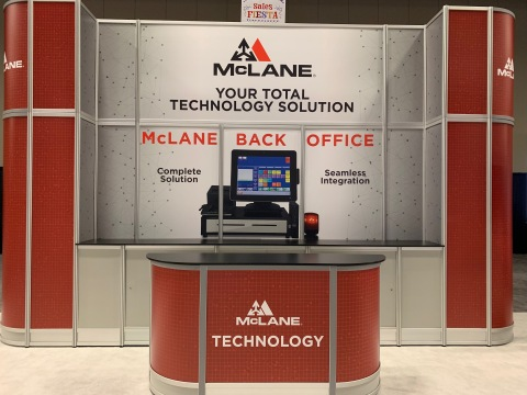 McLane launched a new back office management solution for convenience store retailers at the 2019 McLane National Trade Show. (Photo: Business Wire)