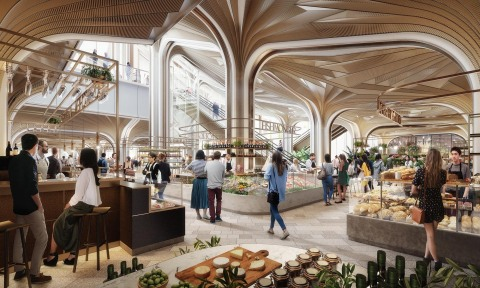 Image of Food Hall (Graphic: Business Wire)