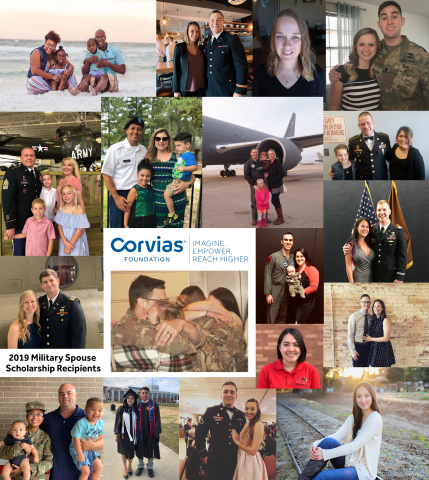 Corvias Foundation has announced the 20 recipients of the organization's 2019 military spouse scholarship. The funds provided will be used by the recipients to help further their academic careers. (Photo: Business Wire)