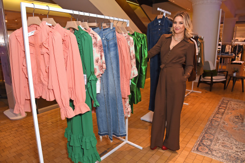 Kate Hudson launches Happy x Nature at Selfridges London (Photo: Business Wire)