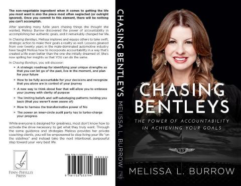 EFG Companies Regional Vice President of Sales, Melissa Burrow, has published her first book, providing business professionals advice on using accountability to achieve authentic goals. The book, Chasing Bentleys: The Power of Accountability in Achieving Your Goals, is available on Amazon: https://amzn.to/30h84QS (Photo: Business Wire)