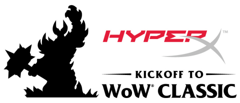 HyperX Kickoff to WoW Classic Livestream Event (Graphic: Business Wire)