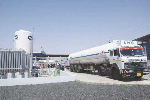 AG&P and Chart Industries are expanding the natural gas value chain in emerging markets with a focus on designing and building small-scale LNG infrastructure for the transport sector, among others. (Photo: Business Wire)