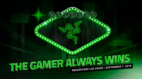 RazerStore Las Vegas opens on September 7th at The LINQ Promenade (Graphic: Business Wire)