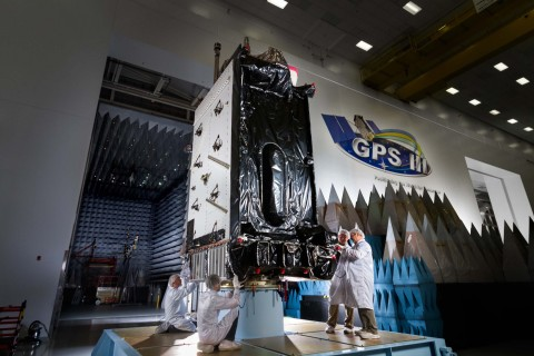 The second GPS III satellite launched today from Cape Canaveral with our RAD750™ Single Board Computer on board. It will provide radiation hardened, high-performance onboard processing capability for the satellite's mission to modernize the GPS constellation. (Photo: Lockheed Martin)