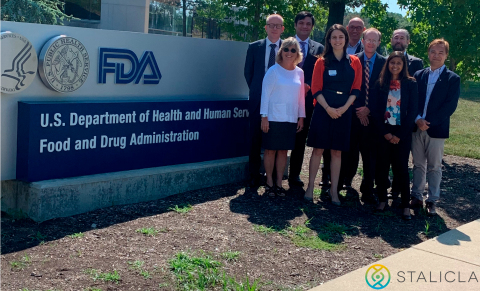 STALICLA at the Food and Drug Administration (FDA) to discuss its investigational precision medicine for Autism Spectrum Disorder (Photo: STALICLA)