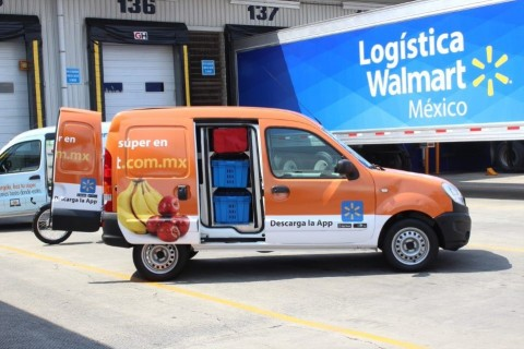 Walmart Mexico delivery services (Photo: Business Wire)