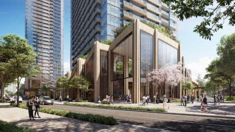 Image of West Entrance (Graphic: Business Wire)