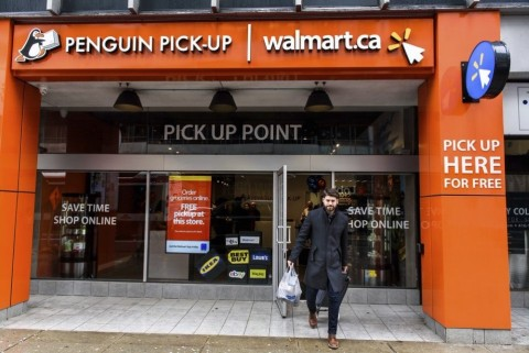 Walmart Canada delivery services (Photo: Business Wire)