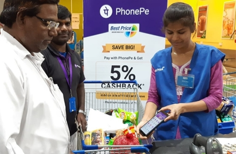 PhonePe payment services in India (Photo: Business Wire)