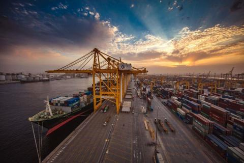 DP World's flagship Jebel Ali Port offers trade connections to more than 150 direct ports of call with more than 80 weekly services, making it an ideal export hub to access over 3.5 billion consumers. (Photo: AETOSWire)