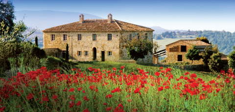 Castello di Casale, the meticulously restored residences, feature unmatched luxury in the heart of the Tuscan countryside (Photo: Business Wire)