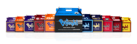 Newly designed Bojangles' Big Bo Boxes showcase ten of the South's favorite football teams. (Photo: Bojangles').
