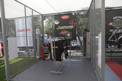 GUESS Jeans U.S.A. Kicked-off GUESS Sport August 24 – 25, 2019 (Photo: Business Wire)
