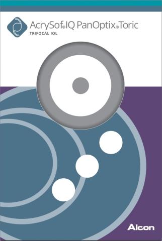 AcrySof® IQ PanOptix® Toric Trifocal IOL Packaging (Photo: Business Wire)