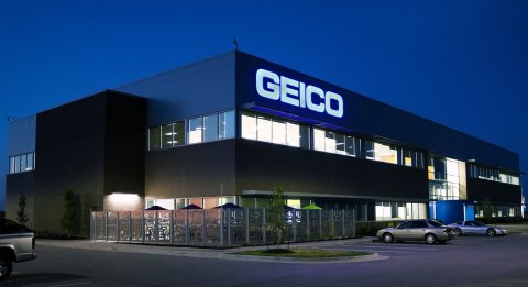 The GEICO office in North Liberty is celebrating the one-year anniversary of its new building at 2320 Landon Road. Photo by Sonny Diesburg (Photo: Business Wire)