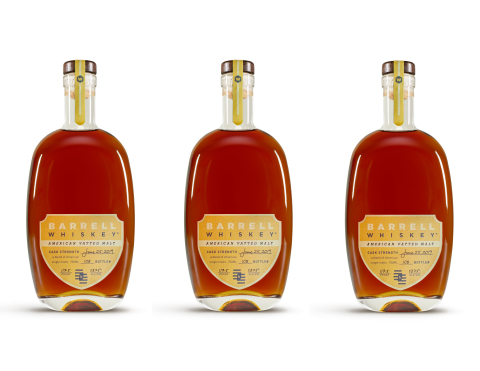 Barrell Craft Spirits releases first-ever Barrell Whiskey American Vatted Malt, a blend of exclusively American single malt whiskeys. (Photo: Business Wire)