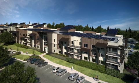 Soleil Lofts apartment community in Herriman, Utah. (Photo: The Wasatch Group)
