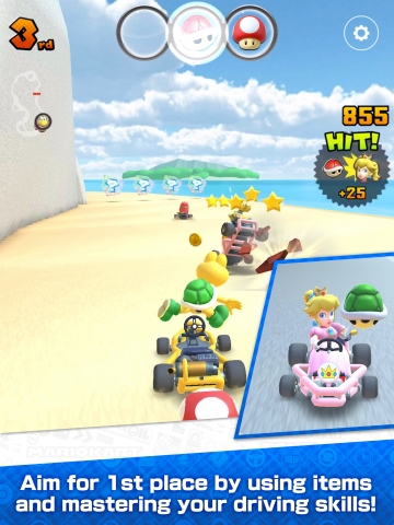 Mario Kart Tour is free-to-start, and will be available to download for iOS and Android devices beginning Sept. 25. A Nintendo Account is required to play Mario Kart Tour. Players can obtain their in-game registration card by linking their Nintendo Account. (Photo: Business Wire)