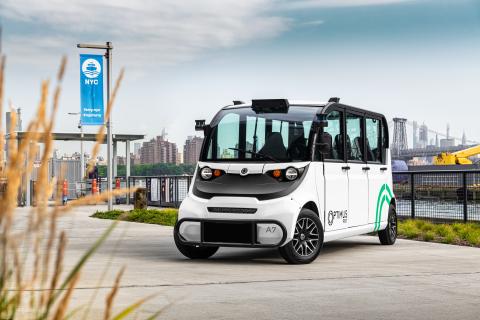 Velodyne Lidar announced Optimus Ride will use Velodyne's groundbreaking lidar sensors in its entire fleet of self-driving vehicles. (Photo: Business Wire)