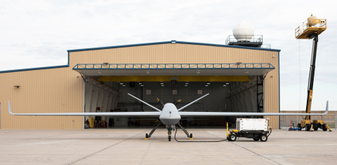 "The Northern Plains UAS Test Site paved the way for attaining the first Public COA that incorporates the Grand Forks Air Force Base Air Surveillance Radar (ASR)-11 and the L3Harris Technologies VueStation and RangeVue systems to meet ""see and avoid"" requirements for a significant volume of airspace. (Photo: Business Wire)"