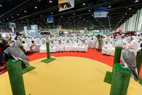 A glimpse of the Falcons Auction during the first day of ADIHEX 2019 (Photo: AETOSWire)