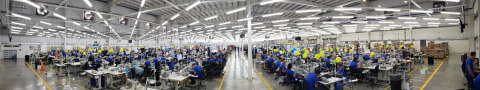 Decotex facility in El Salvador expanded to nearly 250,000 square feet (Photo: Business Wire)