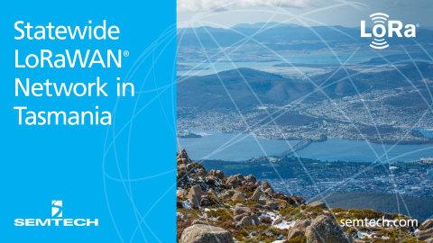 Tasmania network (Graphic: Business Wire)