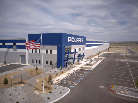 The 475,000 square-foot Fernley Distribution Center will support Polaris' Aftermarket and PG&A brands. (Photo: Polaris Inc.)