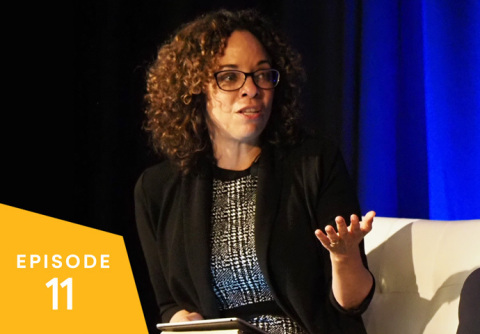 Fortune senior editor Ellen McGirt at the 2019 Great Place to Work For All Summit