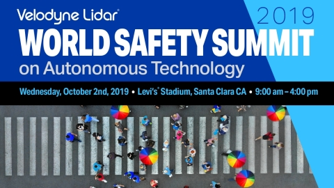The World Safety Summit on Autonomous Technology is a free event that will address safety issues and public concern regarding autonomous vehicles. (Graphic: Business Wire)