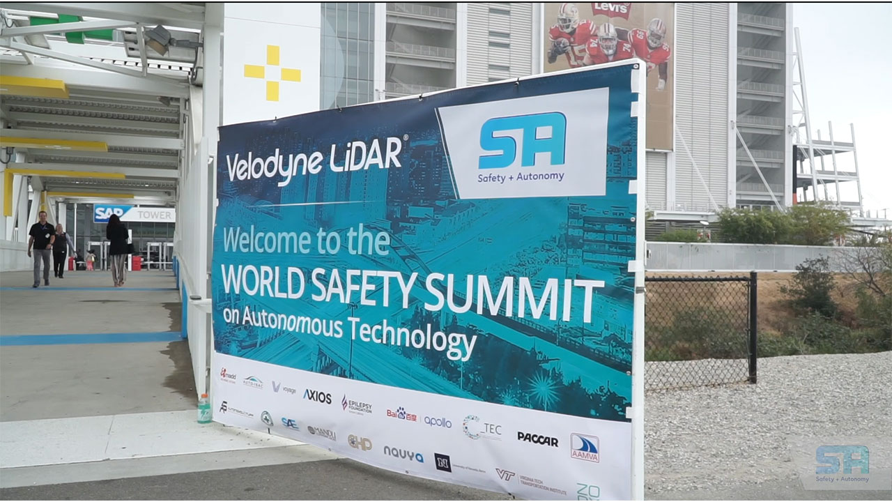 The World Safety Summit on Autonomous Technology provides a forum to advance understanding of the safety benefits that can be achieved with autonomous vehicles.