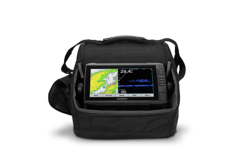 Equipped with everything needed for hard water fishing, the new Panoptix LiveScope Ice Fishing Bundle includes a large ECHOMAP™ Plus 93sv keyed-assist chartplotter, the Panoptix LiveScope System with forward- and down-scanning modes, a swivel pole mount, and so much more – all in a convenient, glove-friendly portable carrying case. (Photo: Business Wire)