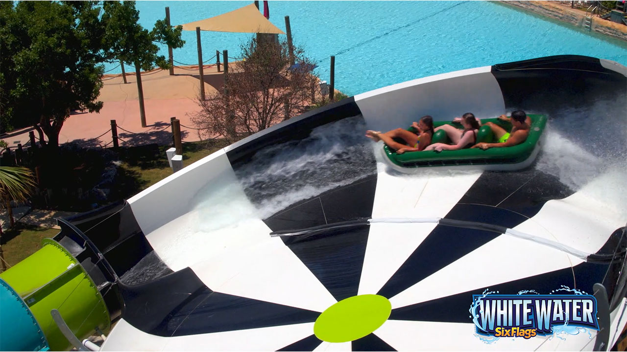 New Spiraling Mega Slide Coming To Six Flags White Water In 2020 Business Wire