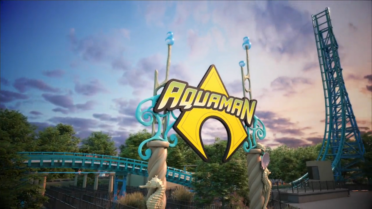 AQUAMAN: Power Wave, a first-of-its-kind, in North America, water coaster will make its debut at Six Flags Over Texas, the Thrill Capital of Texas, next summer. The ride will be the park's 15th coaster.