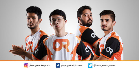 Pole To Win International's Orange Rock Esports (Photo: Business Wire)