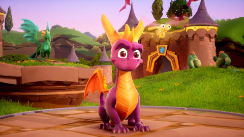 Spyro is bringing the heat like never before in the Spyro Reignited Trilogy game collection. (Graphic: Business Wire)