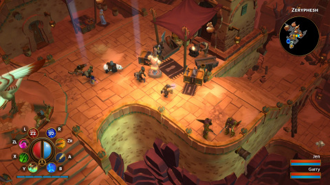 The Torchlight II game is fast, fun and filled to the brim with action and loot. (Graphic: Business Wire)