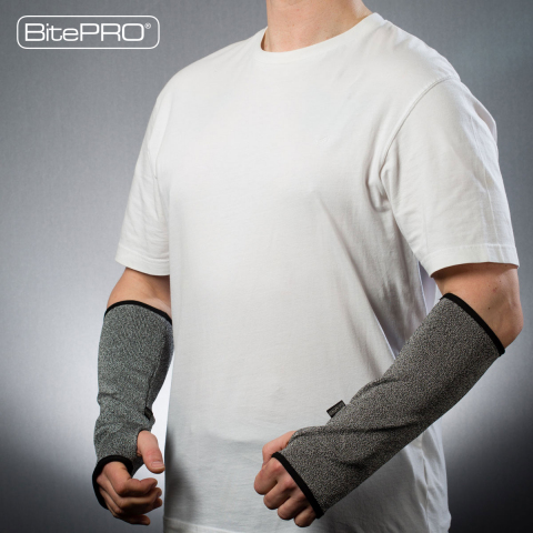 BitePRO® Bite Resistant Arm Guards (Photo: Business Wire)