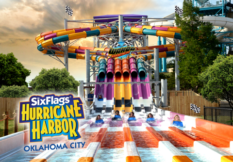 Wahoo Racer, a multi-lane water racing slide that gives riders two uniquely different experiences. (Photo: Business Wire)