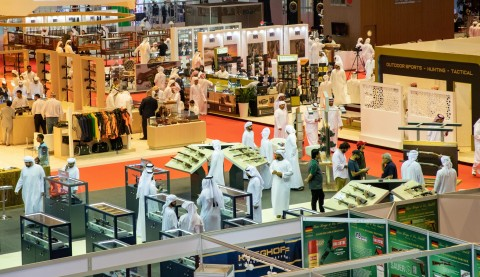 A shot from the first day of ADIHEX 2019 (Photo: AETOSWire)