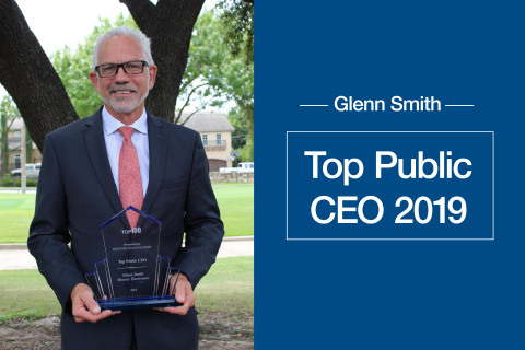 Glenn Smith, President and CEO of Mouser Electronics, has been named 2019's Top Public CEO by Fort Worth Business Press. (Photo: Business Wire)