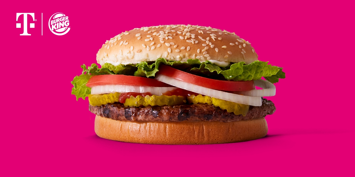 T-Mobile & BURGER KING® Team Up to Give Un-carrier Customers