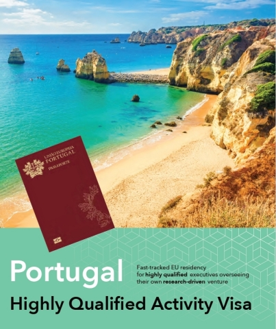 Portugal Highly Qualified Activity Visa (Photo: Business Wire)