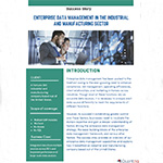 Enterprise Data Management in the Industrial and Manufacturing Sector