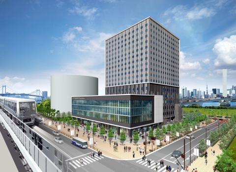 Rendition of Hotel JAL City Tokyo Toyosu (Graphic: Business Wire)