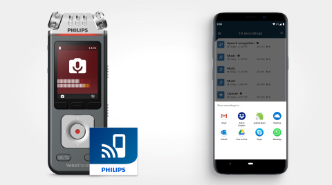 Philips VoiceTracer Audio Recorder (Graphic: Business Wire)