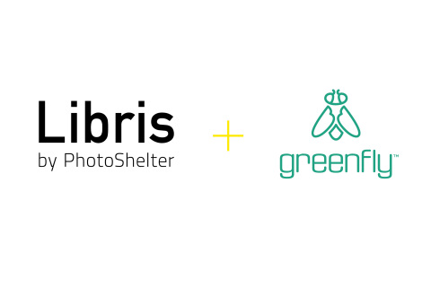 The power of Libris and Greenfly will enable brands to boost social engagement at scale by sharing visual content in real time with influencers. (Graphic: Business Wire)